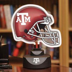 Texas A & M Neon Helmet