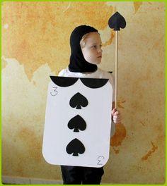 Fasching Kostüm und Verkleiden Alice im Wunderland Kartenmännchen (1)
