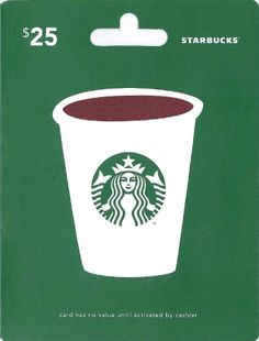 I would love a Starbucks gift card so I can get a drink at the mall when I'm with friends.