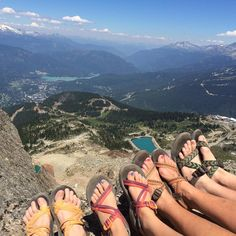 #ChacoNation at the top of Whistler Mountain. If I didn't know us, I'd hate us.