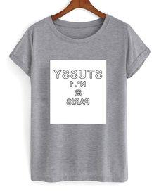 stussy tshirt – newgraphictees #tshirt #shirt #graphicshirt #funnyshirt