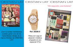 "#Reloj #KlicKiss en la #revista ""veintitantos"""