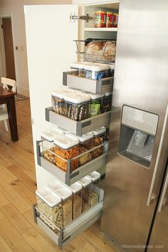 Organized Snack Pantry | Kitchen | Organization
