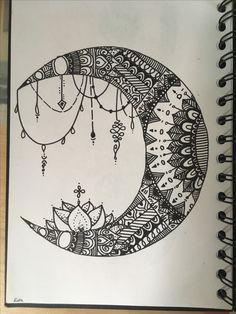 Flower burst dot Mandala on canvas board x Pink, black, yellowBest Picture For mandala art easy For Yo Mandala Doodle, Mandala Art Lesson, Mandala Canvas, Mandala Artwork, Mandala Painting, Rock Painting, Mandalas Drawing, Zentangle Drawings, Doodle Drawings
