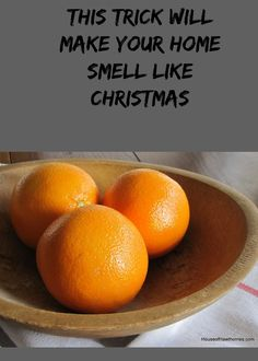How to make your home smell like #Christmas