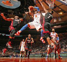 NY Knicks - floor seats with the celebs!