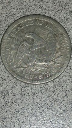 Reverse of Seated Quarter