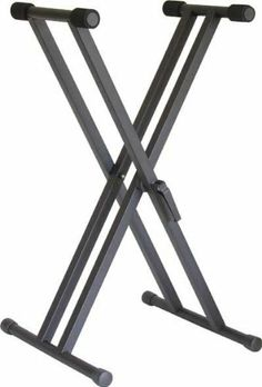 "Audio2000's Keyboard Stand with Easy-Lock Heavy-Duty Dual-Brace Single Tier ""X"" by Audio2000's. $65.80"