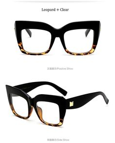 db72075b65 Vintage Oversized Cat-Eye Fashion Sunglasses