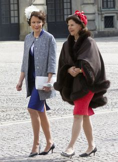 The queen of Sweden Silvia and the first lady of Finland Jenni Haukio (great style, I love her fascinator!)