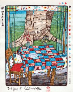 i don't know why, but this one was always my favorite hundertwasser.