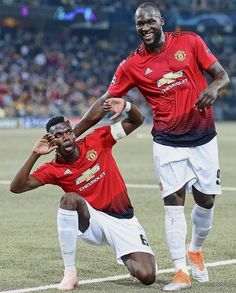 Pogba's brace against Young boys! Paul Pogba Manchester United, Manchester United Football, Soccer Stars, Sports Stars, Cristiano Ronaldo Celebration, Paul Labile Pogba, Manchester United Wallpaper, Premier League Champions, Soccer World