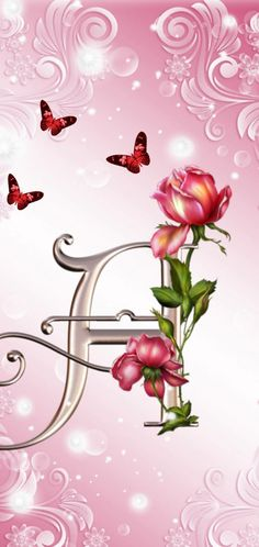 Search free alphabet Ringtones and Wallpapers on Zedge and personalize your phone to suit you. Start your search now and free your phone Alphabet Wallpaper, Free Ringtones, Cellphone Wallpaper, Pink Love, Pink Flowers, Lettering, Butterfly, Art, Pretty Pictures