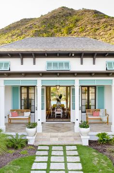 Front entrance to one of the Windswept Villas #ChristopheHarbour #StKitts #Caribbean www.christopheharbour.com