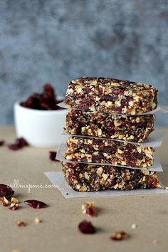 Cranberry and Almonds