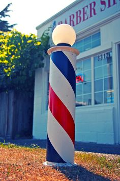 Barber shop decoration
