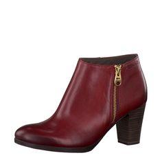 Schuhe 1-1-25326-21-562 - damen-stiefeletten-ankle-boots - rot von Tamaris im Schuhportal auf schuhe.de