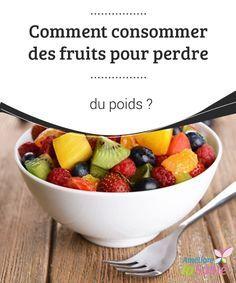 Comment consommer des #fruits pour perdre du poids ?   Si vous adorez #boire des jus de fruits, faites en sorte de les choisir #naturels. Vous pouvez les préparer à la #maison par exemple.
