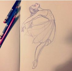 Ideas For Dancing Girl Drawing Beautiful Ballet Dancers Ballet Drawings, Dancing Drawings, Dancing Sketch, Ballerina Drawing, Dancer Drawing, Easy Pencil Drawings, Cute Drawings, Hipster Drawings, Girl Drawing Sketches