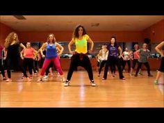 Shake Body - Skales Salsation Choreography by Laura Gómez