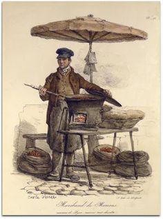 Héraldie: Les cris de Paris selon Carle Vernet (1758-1836)