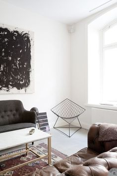 Photographed and styled by Lovely Life and for sale at the Swedish real estate agency Alexander White.