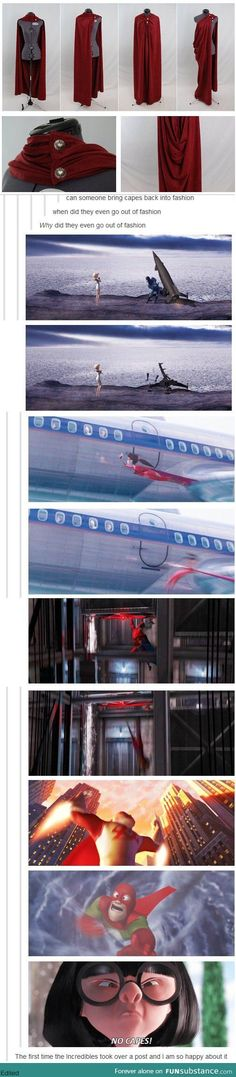good thing i dont fly then bc capes are awesome