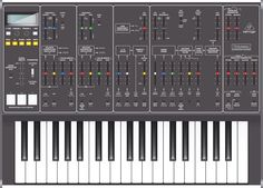 Behringer Odyssey Electronic Music Synthesizer ~ end of 2014 German/Chinese audio electronic company Behringer famous for low price tags, announces a line of synthesizers starting with an ARP Odyssey Clone for € 420.00