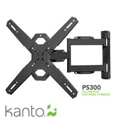 Kanto PS300 Articulating Single Stud Mount for 26-in to 50-in flat panel TV's