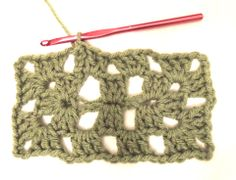 How to #Crochet a Granny Rectangle via @Crochet Today