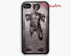 Han Solo Carbonite - iphone 4 case, iphone 4s case, iphone hard case. $9.99, via Etsy.