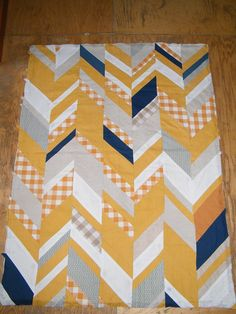 herringbone quilt...cool