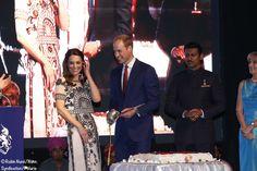 Royal Tour of India. April 11, 2016.