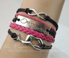 Infinity braceletGiraffe braceletOne Direction by themagicbracelet, $4.99
