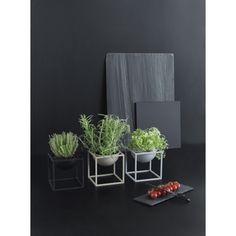 Monochrom: Kubus Bowl von bylassen   online kaufen im stilwerk shop   ab € 129,-