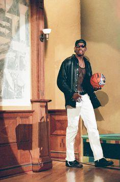 Nba Fashion, Mens Fashion, Fashion History, Denis Rodman, Estilo Hip Hop, Nba Pictures, Basketball Photography, Hommes Sexy, Last Dance