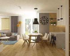 Aranżacje wnętrz - Kuchnia: Projekt mieszkania 90m2 ochota - Średnia otwarta kuchnia w kształcie litery u w aneksie, styl nowoczesny - Grafika i Projekt architektura wnętrz. Przeglądaj, dodawaj i zapisuj najlepsze zdjęcia, pomysły i inspiracje designerskie. W bazie mamy już prawie milion fotografii! Dining Table, Furniture, Home Decor, Shopping, Decoration Home, Room Decor, Dinner Table, Home Furnishings, Dining Room Table