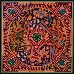 Ahora los huicholes realizan anualmente esta peregrinación hacia el desierto de Wirikuta, en el oriente (San Luis Potosí), para recolectar a sus antepasados –peyote, venado y agua de los manantiales de este lugar–. Asisten únicamente los marakames y hikuritamete.