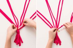 Make These Macrame Hanging Planters in 30 Minutes! via Brit + Co
