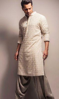 I asked u something what u asked Men Ethnic Wear India, India Fashion Men, Mens Indian Wear, Indian Groom Wear, Indian Men Fashion, Fashion Suits, Mens Fashion, Wedding Kurta For Men, Wedding Dresses Men Indian