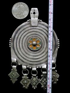 Berber Tribal Jewelry - Old Bedouin Pendant Collectible $185
