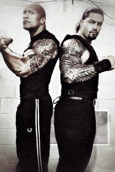 The rock & Roman Reins :)