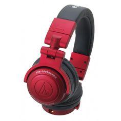 ATH-PRO500MKII Red Auriculares profesionales de monitorización. Color rojo