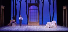 """Set and Lights for """"The Cherry Orchard"""" Fall '02"""