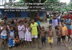 Vanuatu 2013 #Vanuatu #Scriptures #Bible #God #love Matthew 24, Ends Of The Earth, Vanuatu, Gods Love, Scriptures, Trips, Bible, Faith, World