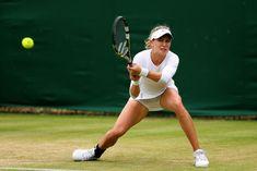Eugenie Bouchard Photos Photos - Wimbledon Tennis Championships: Day 5 - Zimbio
