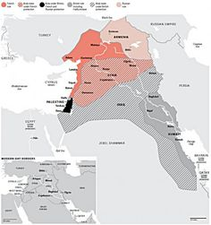 """. """"End of Sykes-Picot..."""" WOW, this really puts it well. From Arab Spring to ISIS, the end of Sykes-Picot arriving?"""
