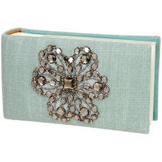 Blue Linen with Gemstone Photo Album @Layla Grayce