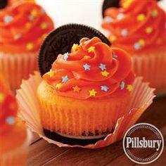Bold #Chocolate Cookie #Cupcakes from Pillsbury® Baking