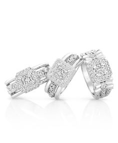 Solitaire engagement rings mastercrafted in white gold set with a round brilliant cut diamond main stone. Our Mariah diamond engagement rings are ava African Jewelry, Diamond Engagement Rings, Diamond Jewelry, Silver Rings, Jewelry Design, White Gold, Wedding Rings, Bling, Stud Earrings